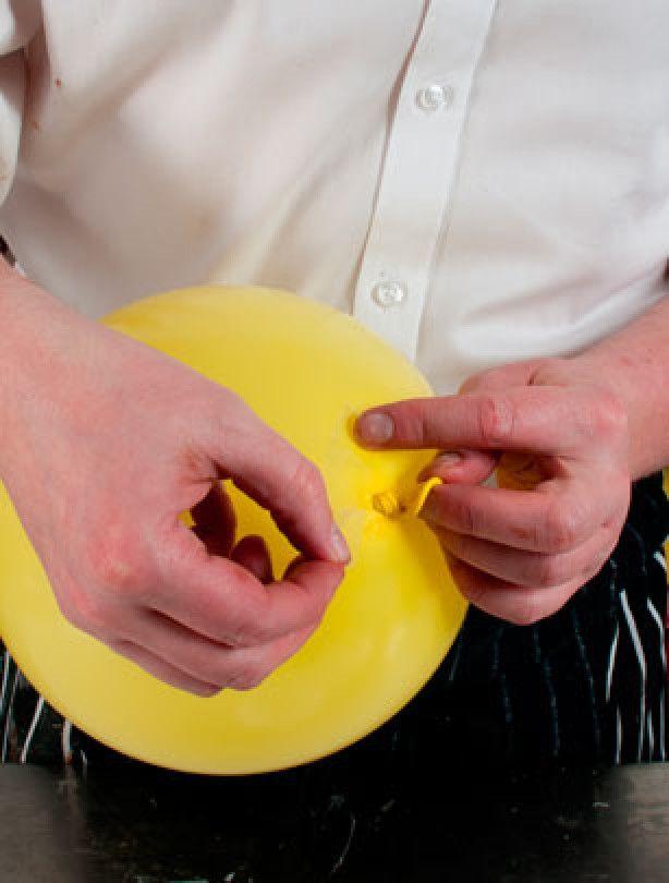 Step 11 - How to make a chocolate bowl