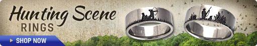 Camo Rings & Camo Wedding Rings - Your Camo Ring is at Titanium-Buzz.com!