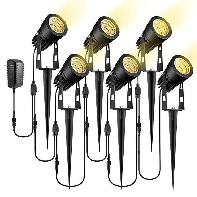 Ecowho Low Voltage Landscape Lights 12v Led Landscape Lighting Outdoor Spot Lights Plug I Led Landscape Lighting Outdoor Landscape Lighting Landscape Lighting