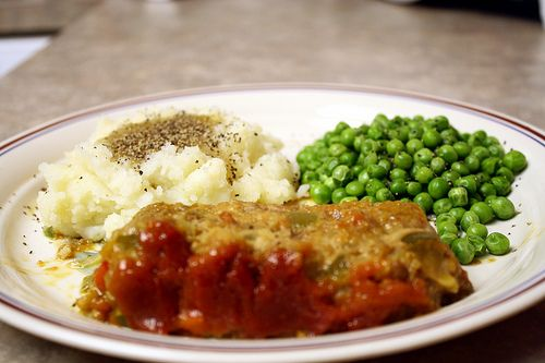 Yummy meatloaf!