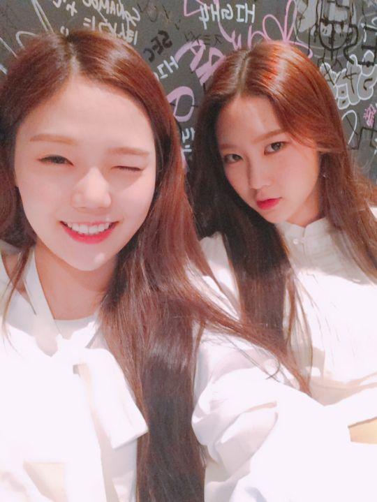Hyojung and Jiho
