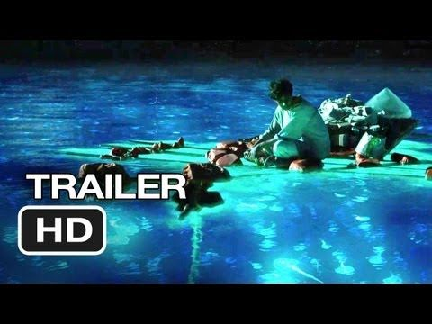 New Life Of Pi Theatrical Trailer. Loving the glow in the dark scenes.