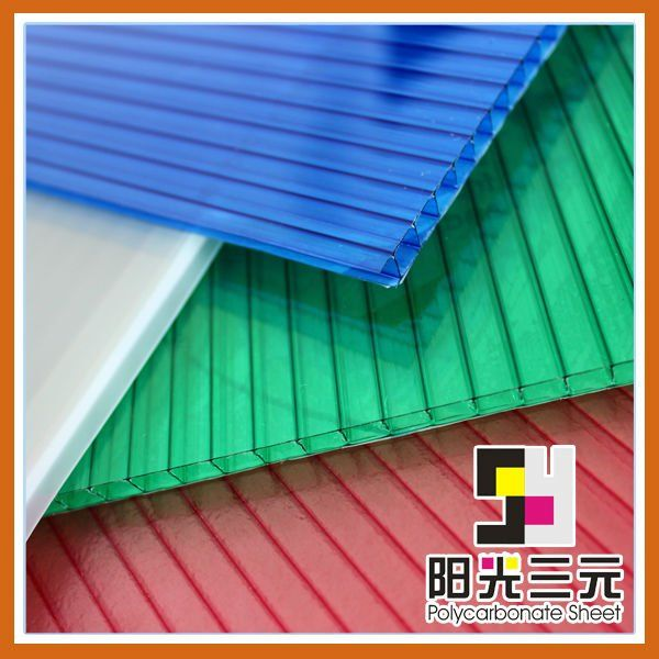 corrugated plastic roofing sheets,polycarbonate hollow sheet $2800~$3600