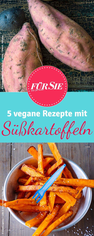 Die Süßkartoffel ist nicht nur lecker sondern auch sehr gesund! Wir haben ein paar vegane Rezeptideen für Euch.