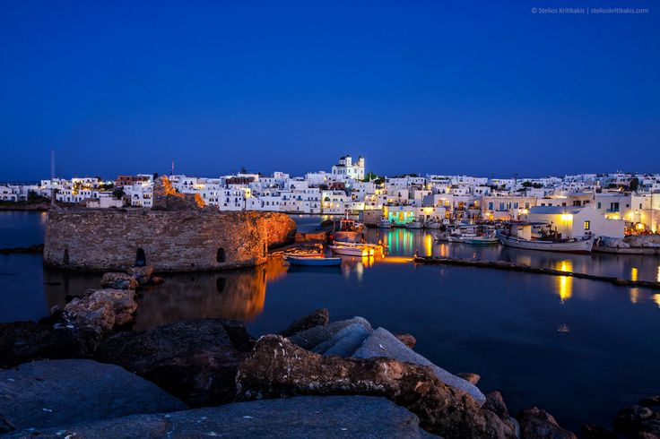 Photo Naousa / Paros Island / Aegian Greece by Stelios Kritikakis