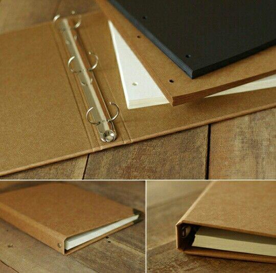 Arvhivador kraft y recambios de páginas
