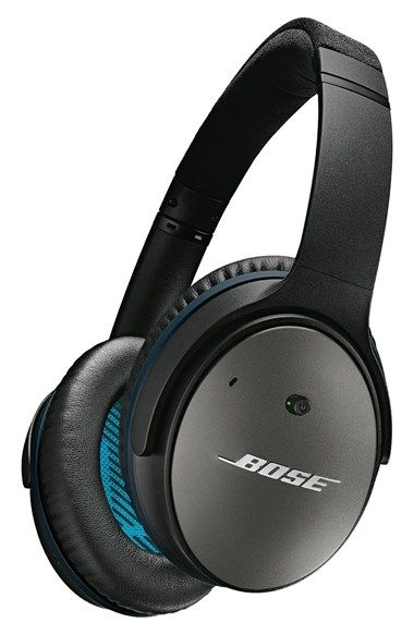 Bose QuietComfort 25 Acoustic Noise Cancelling Headphones are the perfect gift for a traveler