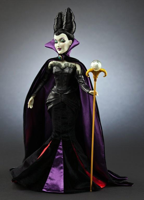 Maleficent doll - Disney Villains Designer collection
