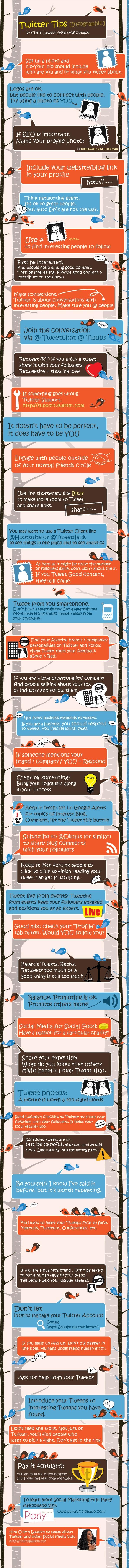 #Twitter tips