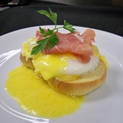 Συνταγή για αυγά Benedict