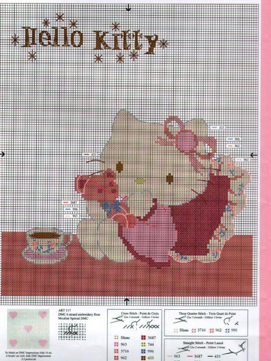 Knitting Games Hello Kitty : Best hello kitty images on pinterest cross