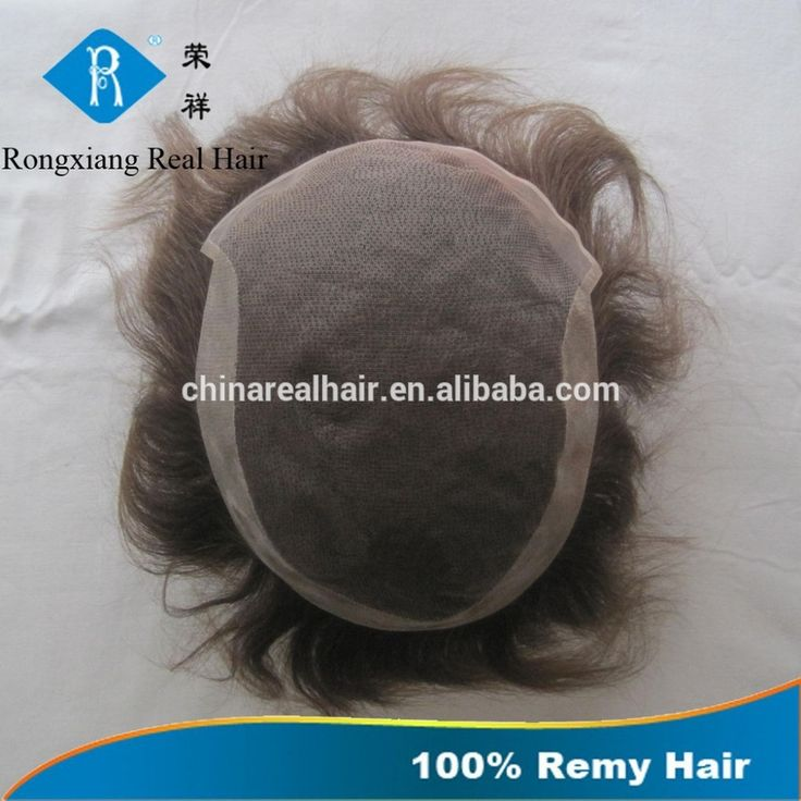 Cheap wholesale natural human hair toupee for men