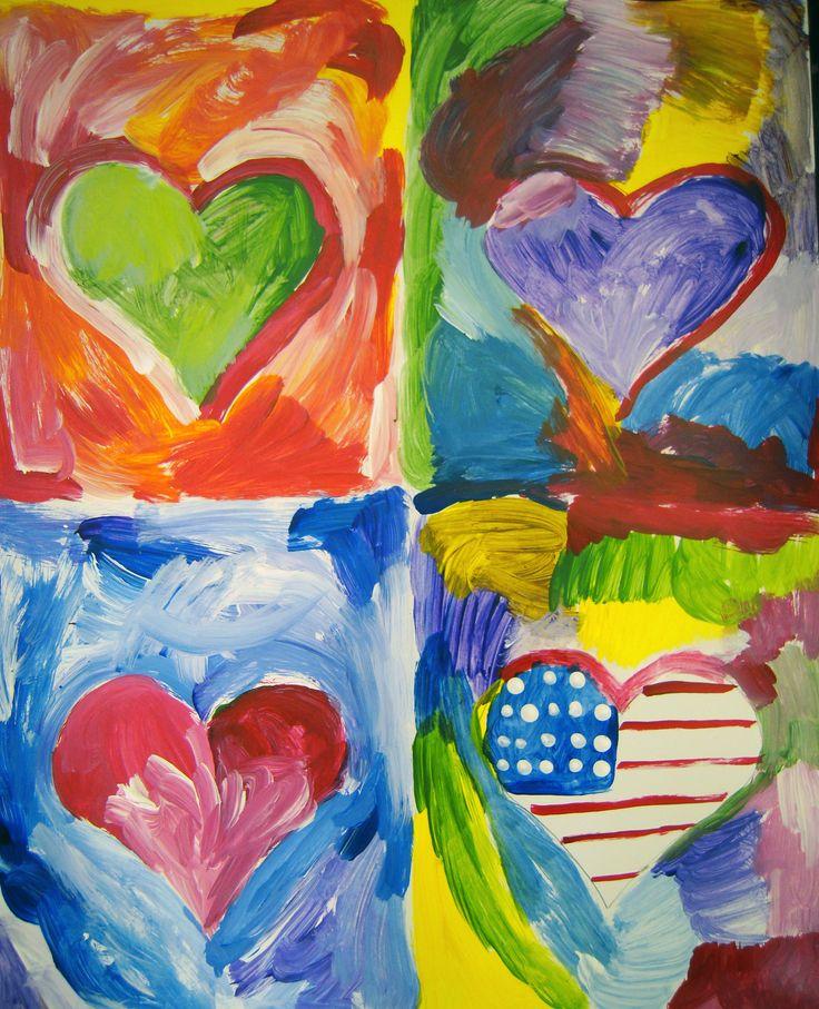 First Grade Valentine Crafts