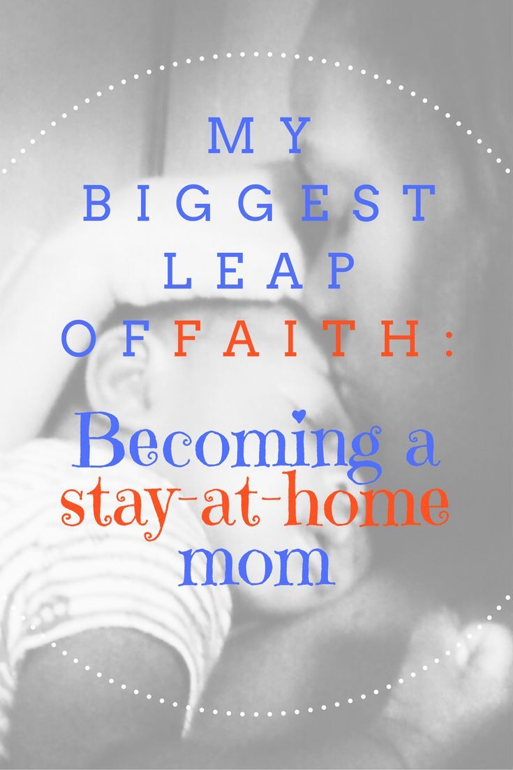 How can you become a stay-at-home mom?