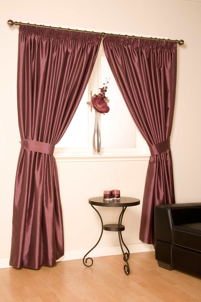 Como Mulberry Pencil Pleat Curtains  From £23.13