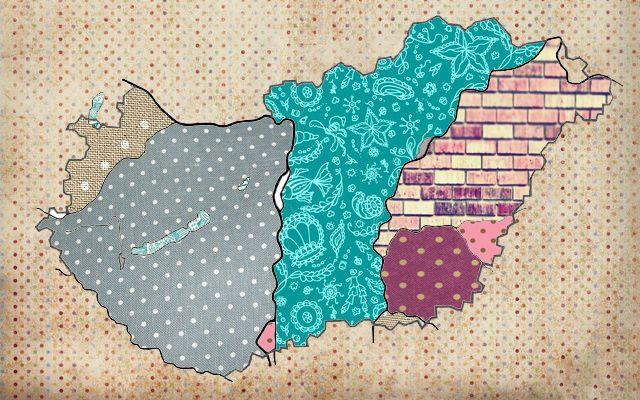 Magyarország térkép 2