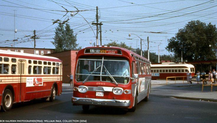 TTC GM Fishbowl,Old Look&PCC Streetcar