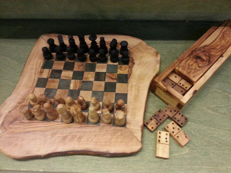Domino & Chess Board Set