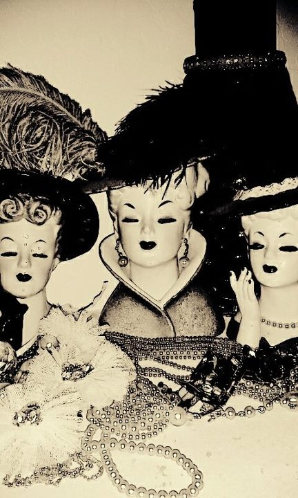 207 Best Vintage Heads Images On Pinterest Kitsch