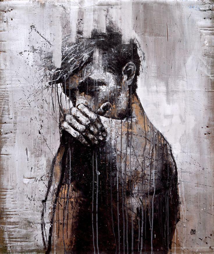 """The Beautiful Mind"" by GRAFFMATT 2015 #painting #graffiti"