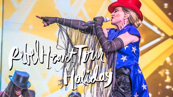 "Madonna performs ""Holiday"" at her first Sydney Rebel Heart show. ▲ Instagram - https://instagram.com/ketobaberocks/ ▲ Facebook - http://www.facebook.com/Keto..."