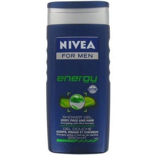 Nivea MEN shower 250ml Energy 4005808130115