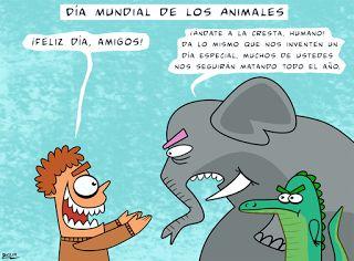 Creaciones Damivago: Damivago Nº 433: Día Mundial de los Anmales