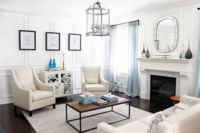 AM Dolce Vita Living Room Design Full Wall Wainscoting AM Dolce Vita Pinterest