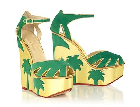 Charlotte Olympia and Solange Azagury-Partridge collab