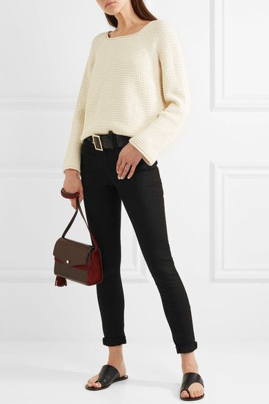M.i.h Jeans - Bodycon High-rise Skinny Jeans - Black