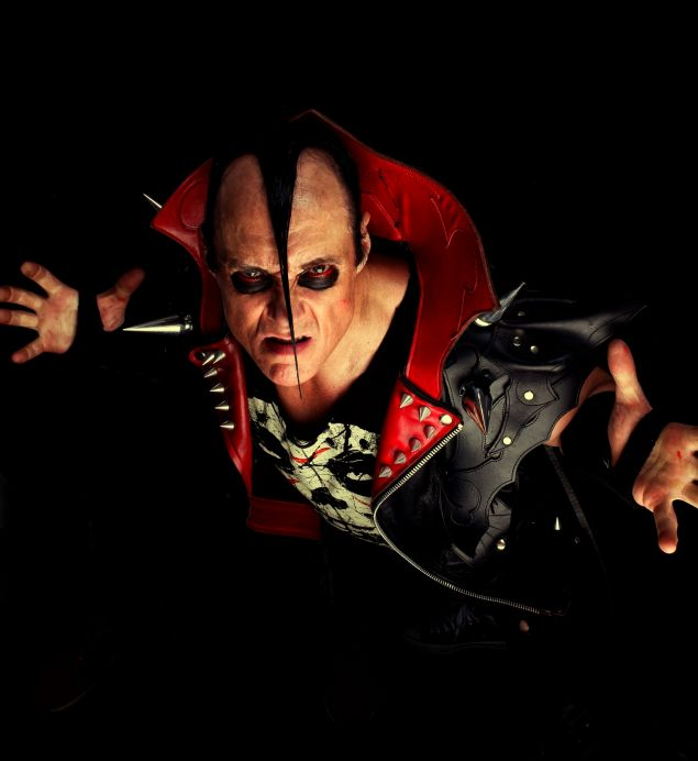 In Celebration of Misfits 40th Anniversary Rock and Roll Hall of Fame Unveils Misfits Jerry Only's Bass and VestWithGuitars