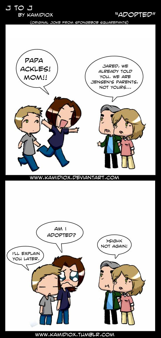 J to J: Adopted by *KamiDiox on deviantART
