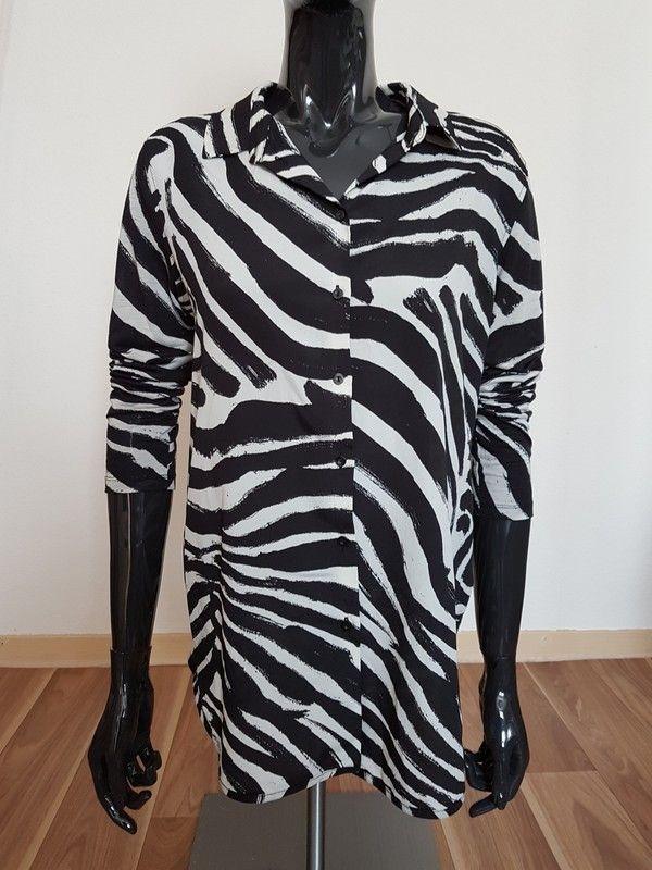 Marvelous Zebrastreifen Hemdbluse aus H