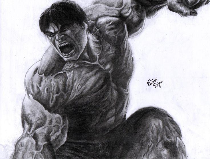 Hulk Dibujo