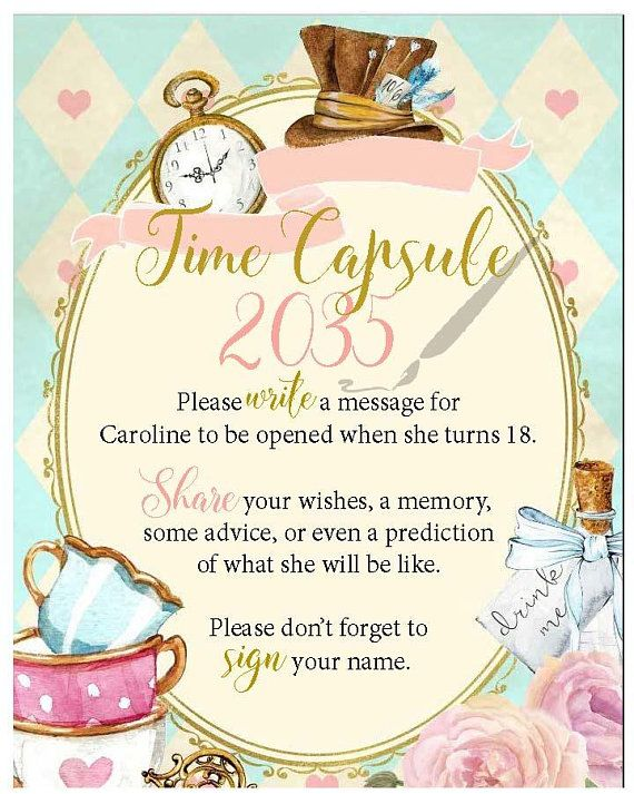 Pin On Birthday Time Capsules