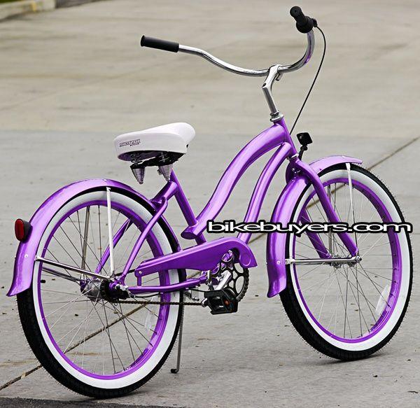 I want a purple bike!