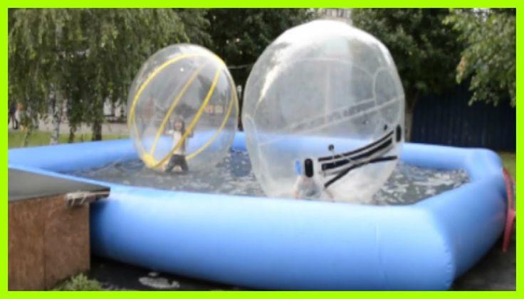Гигантские Шары на Воде ✽  Развлечения для Детей