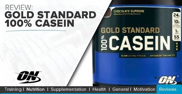 Have you tried Optimum Nutrition SA's Gold Standard 100% Casein Protein?? Find out what you are missing out ON!