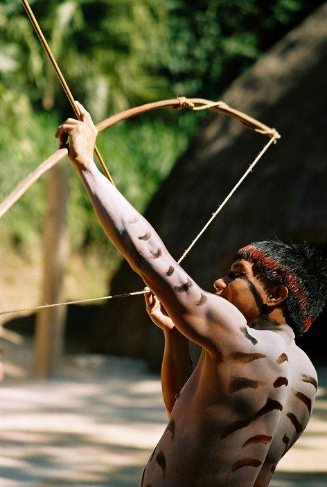 índio kuikuro - alto xingu - foto: Rita Barreto