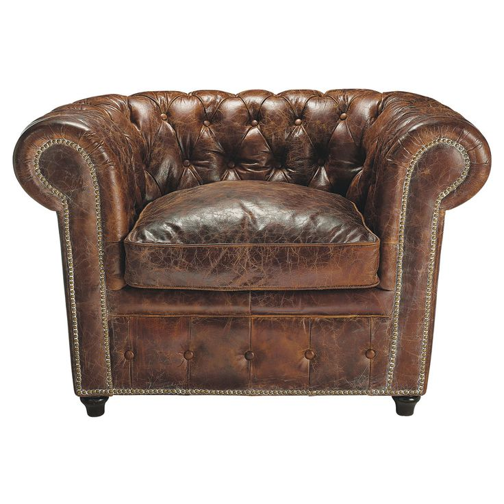 1000 idee n over bruine lederen meubels op pinterest bruine lederen banken lederen bank - Leer capitonne ...