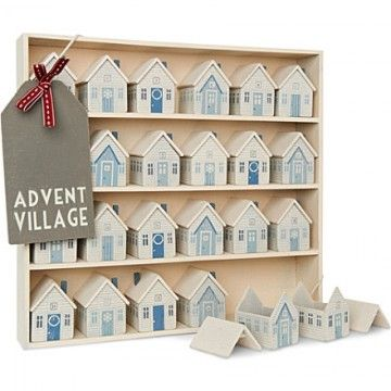 East of India Christmas advent village