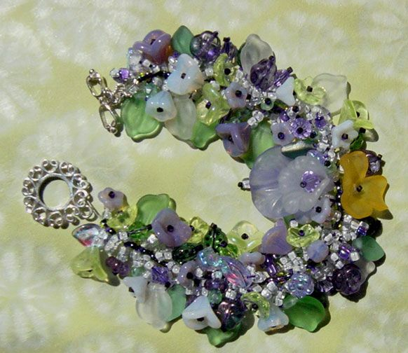 405 best pretty little flowers and leaves bracelets images