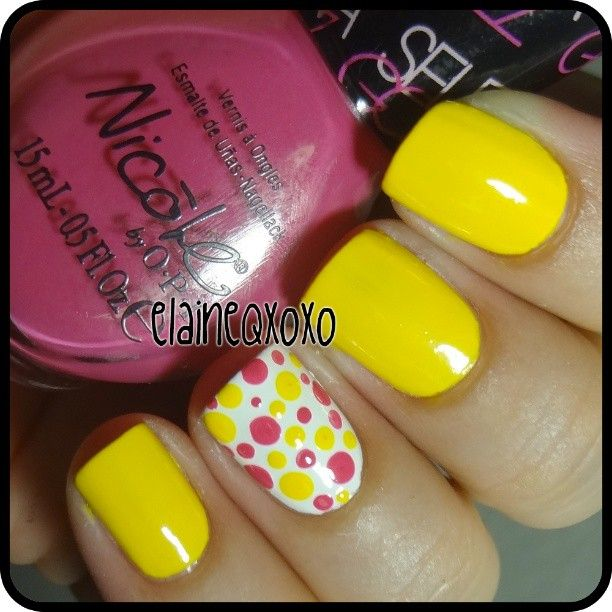 Yellow Nail Polish Toenails: Best 20+ Yellow Nail Art Ideas On Pinterest