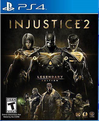 Injustice 2 Legendary Edition - PlayStation 4 Brand New PS4 Ships Worldwide: $104.98 End Date: Saturday Mar-31-2018 20:02:15 PDT Buy It Now…