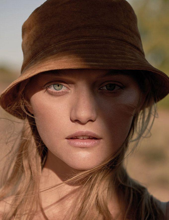 Джемма Уорд (Gemma Ward) в фотосессии для Russh Magazine