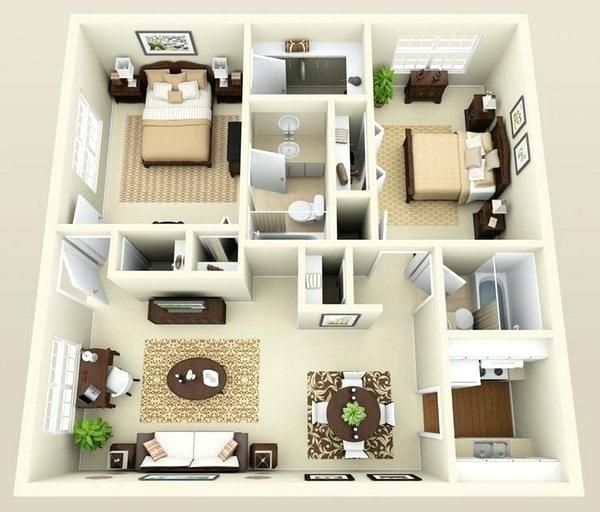House Interior Design Ideas On Modern Lines Layout De