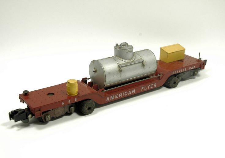 Vintage American Flyer 648 Track Cleaning Car Rolling Stock S-Scale #americanflyer #modeltrains #indypicker