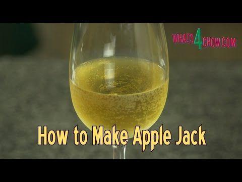 Freeze Distilling Apple Jack