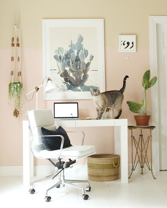 Home Office Color Schemes: 42 Best Home Office Color Inspiration Images On Pinterest