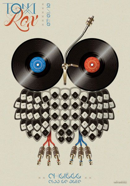 20 beautiful examples of music posters - Blog of Francesco Mugnai